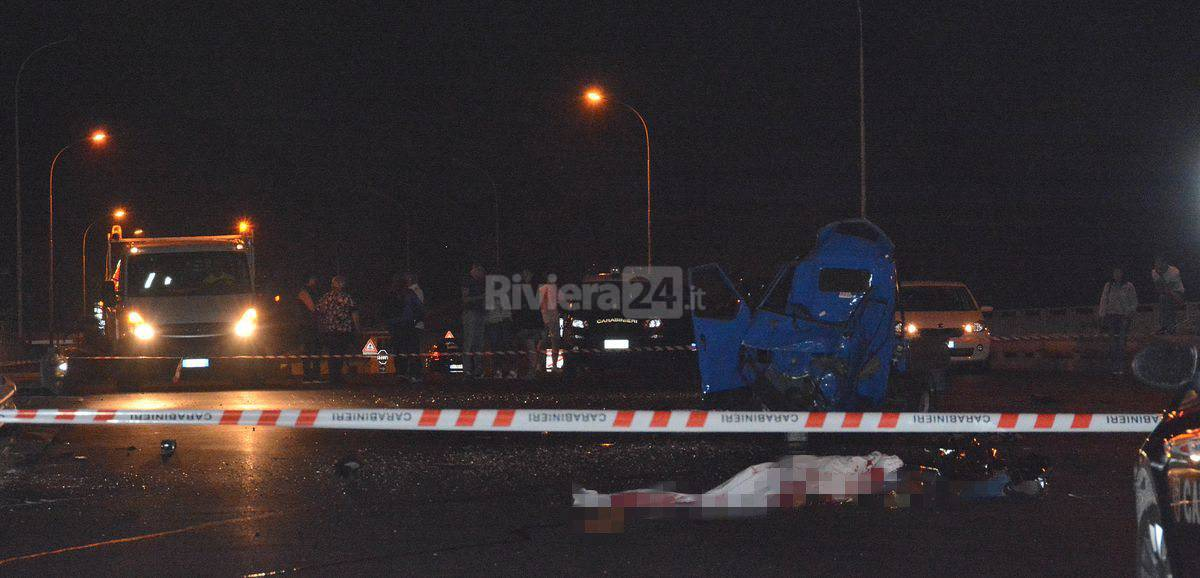 Incidente mortale Arma di Taggia,