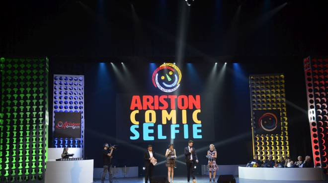 riviera24 - Ariston Comic Selfie