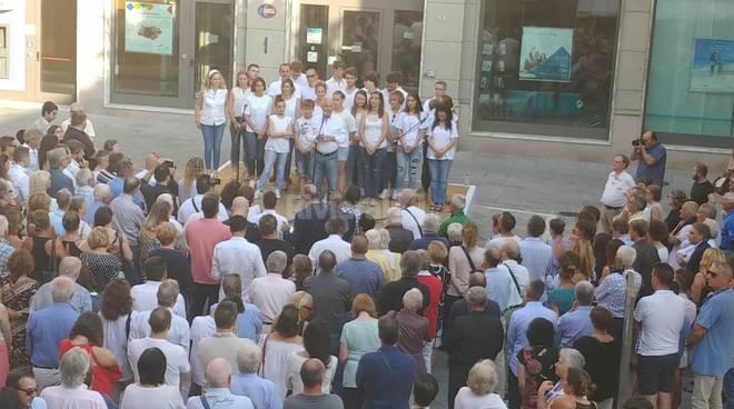 riviera24 - fine campagna elettorale comizio  Claudio Scajola