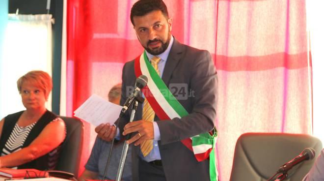Riviera24-sindaco Armando Biasi il Consiglio comunale di Vallecrosia
