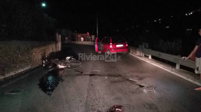 Incidente via Mameli Bordighera