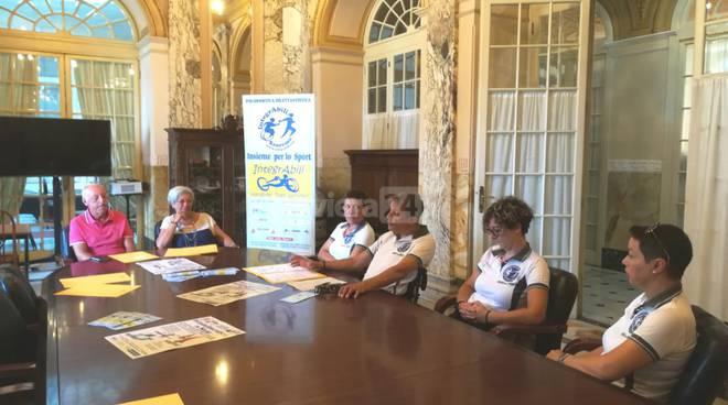 """""""IntegrAbilmente in mare"""" Sanremo, conferenza stampa"""