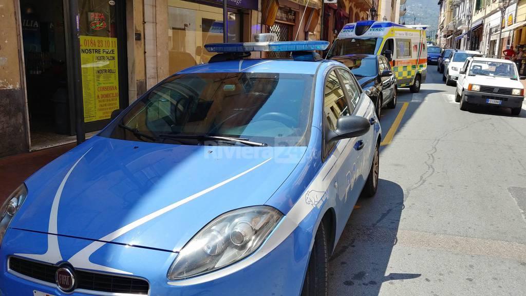 polizia e ambulanza ventimiglia
