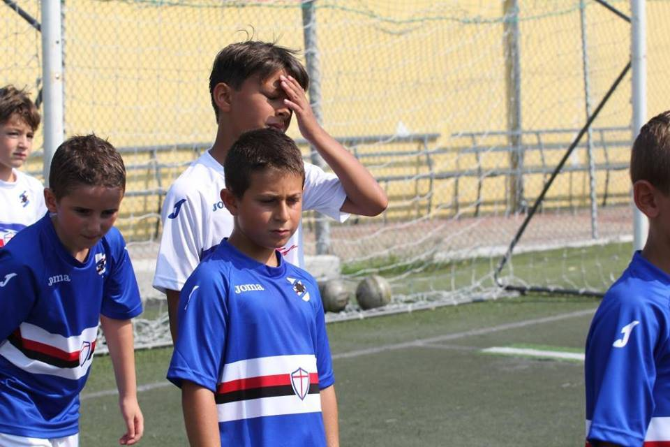 riviera24 - 1° Sampdoria Camp a Imperia