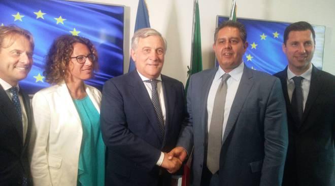 riviera24 - Antonio Tajani e Giovanni Toti