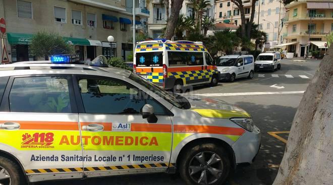 riviera24-automedica 118 ambulanza ospedaletti