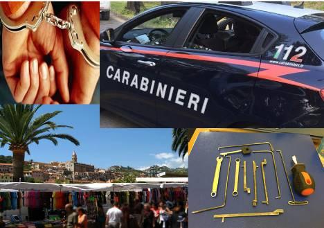 riviera24 - Carabinieri Ventimiglia furto