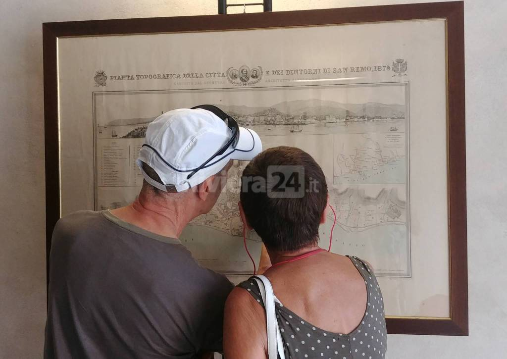 """Riviera24.it - Inaugurazione mostra  """"Sanremo e l'Europa"""""""
