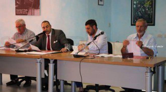 riviera24-Quesada Cristian Fabio Perri e Ferdinando Giordano vallecrosia minoranza