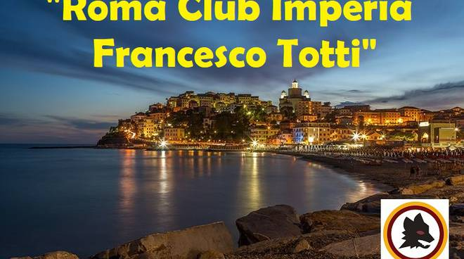 "riviera24 -""Roma club Imperia Francesco Totti"""