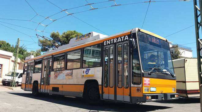 Sanremo, filobus riviera trasporti rt