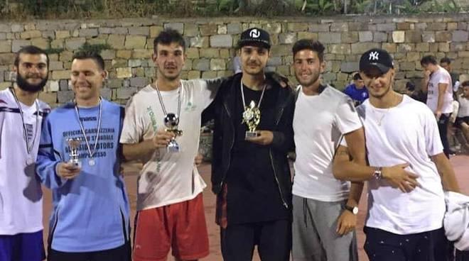 Stefano Alessi, Flavio Federico, Alex Arduin e Zeno Zanetti