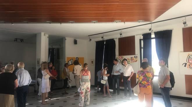 Taggia, inaugurazione mostra Villa Boselli