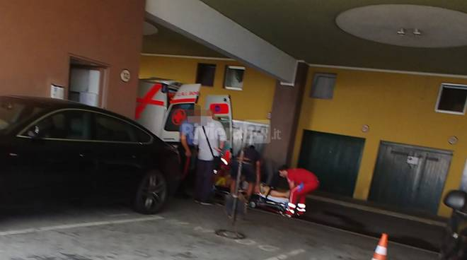 incidente sul lavoro grand hotel del mare