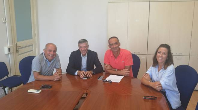 riviera24 - Alessandro Il Grande, Pino Camiolo, Laura Cane e Domenico De Leo