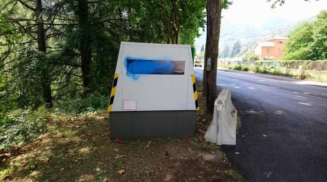 riviera24 - autovelox vandalizzato breil