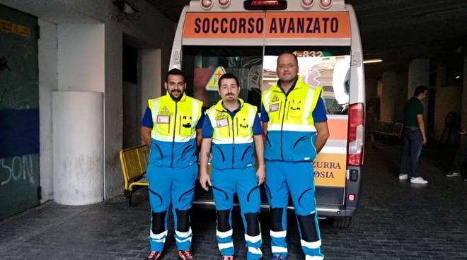 Riviera24- Croce Azzurra Vallecrosia