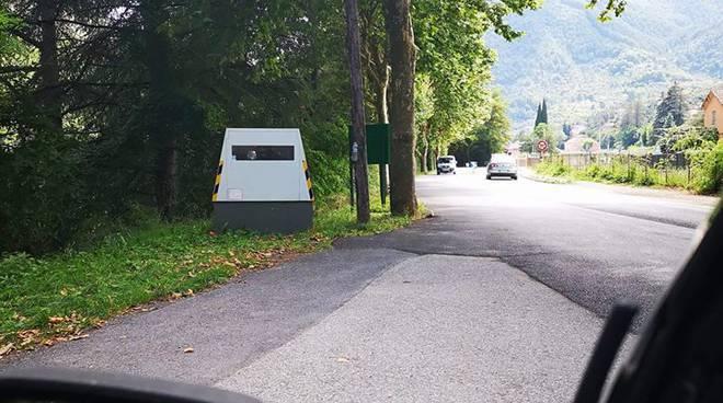 riviera24 - L'autovelox della Val Roya si trasferisce a Breil
