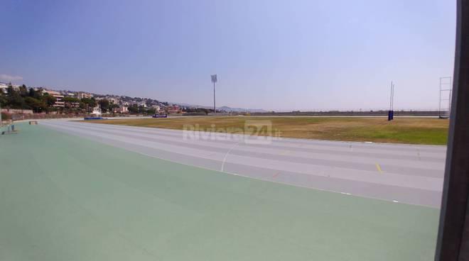 riviera24-Pista d'atletica, lo stato attuale della struttura di Pian di Poma