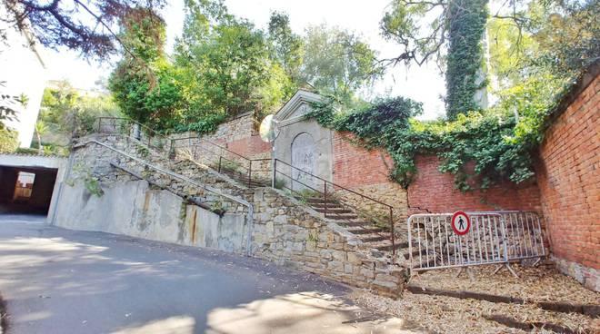 riviera24-scalinata inagibile ospedaletti