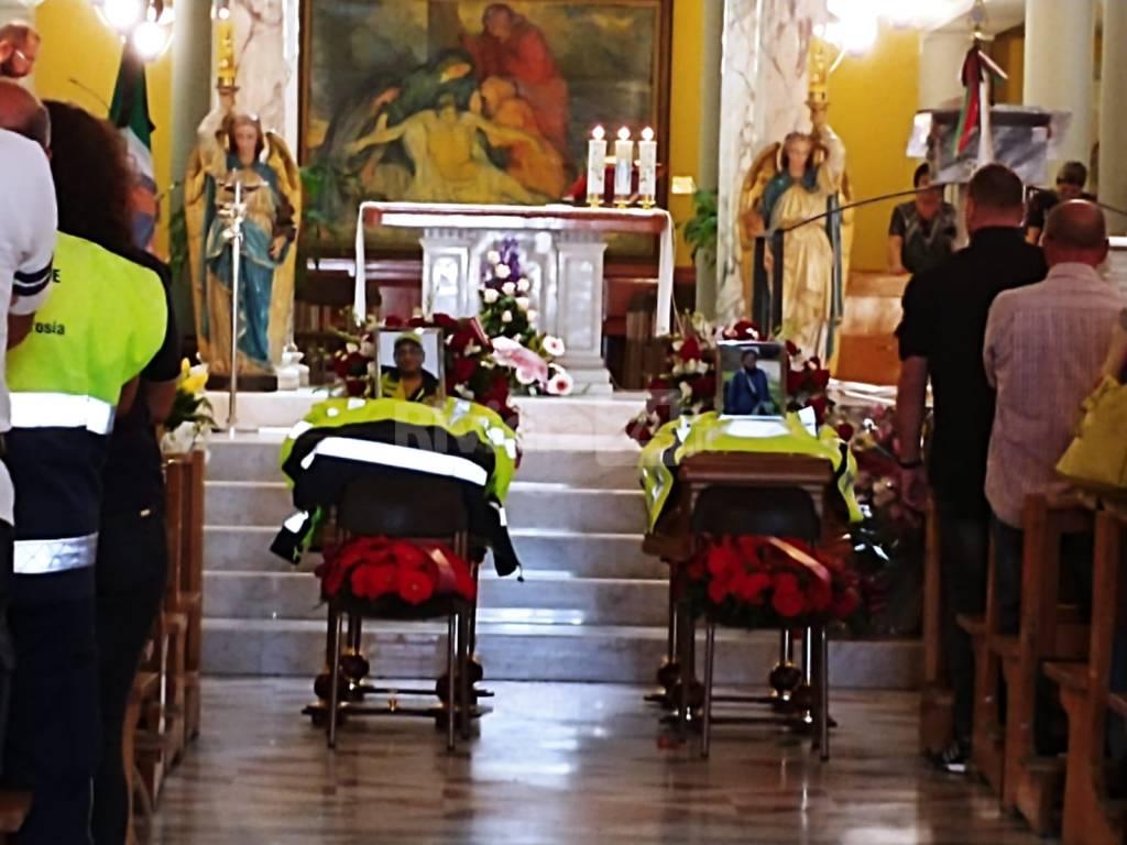funerali coniugi madonna della ruota