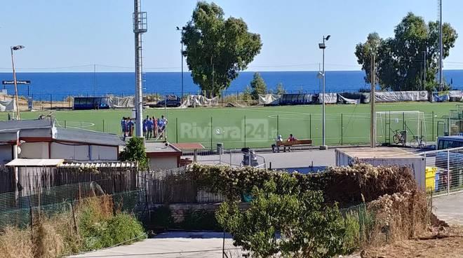 riviera24-campo pian di poma calcio sintetico sanremese