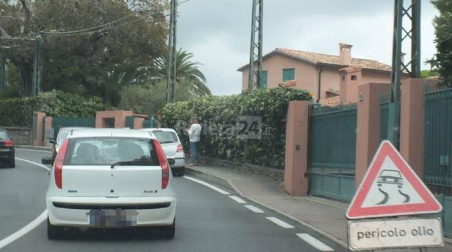riviera24 incidente frontale bordighera aurelia