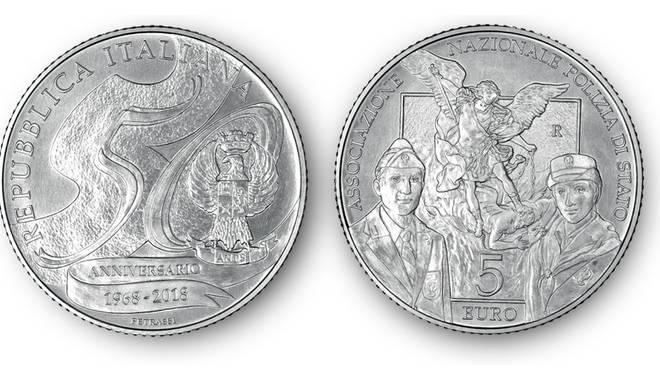 riviera24- moneta d'argento Anps