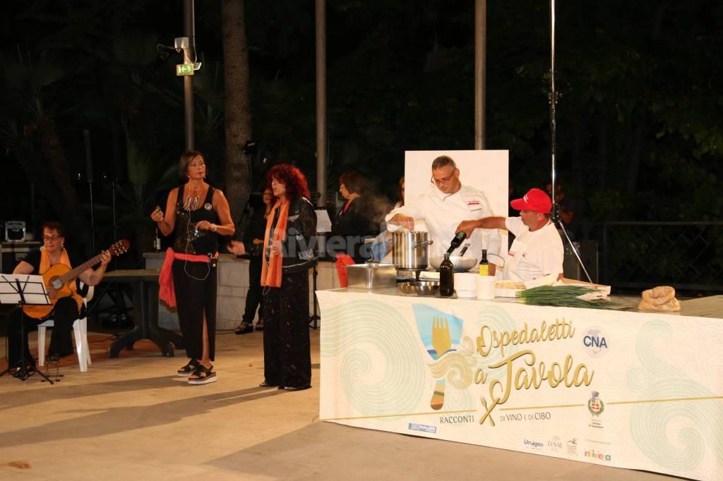 riviera24-Ospedaletti a Tavola cna imperia pasta morena chef vito