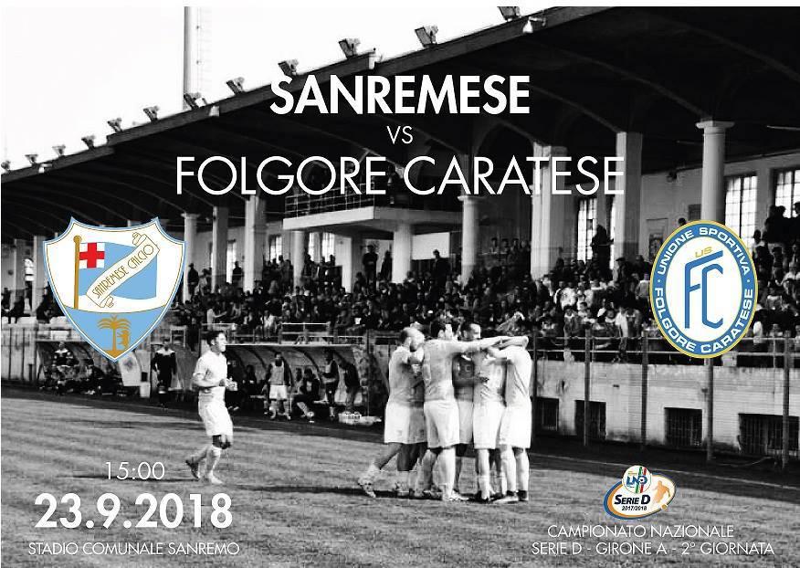 riviera24-  Sanremese vs Folgore