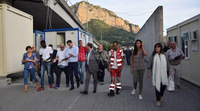 Visita sottosegretario Interni Molteni a Ventimiglia