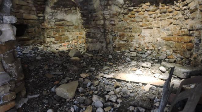 Danni chiesa sant'ampelio Bordighera