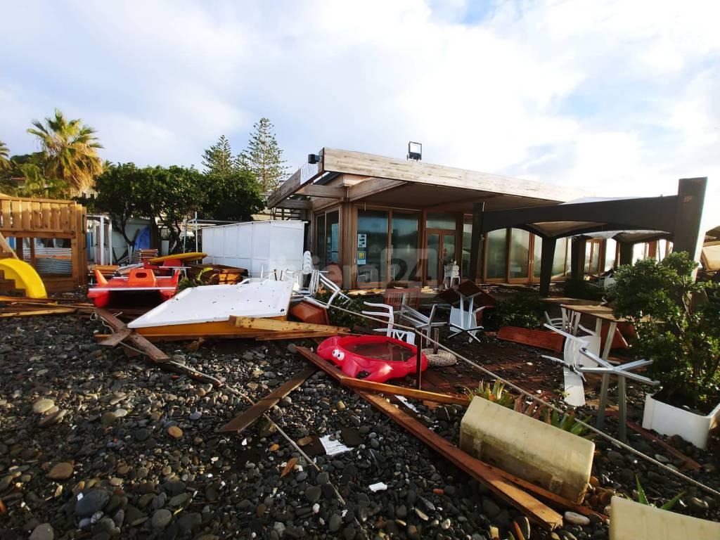 riviera24 - Danni a Bordighera maltempo