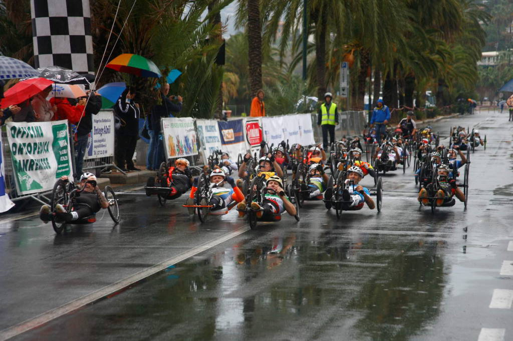 riviera24 - Gran Premio Handbike Casinò Sanremo