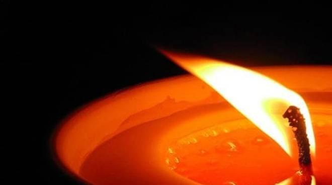 Lutto, candela