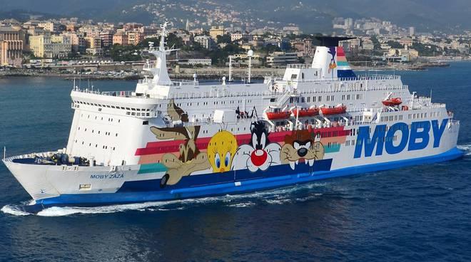 Sciopero marittimi in Corsica, la Moby Zaza ripartita per Genova
