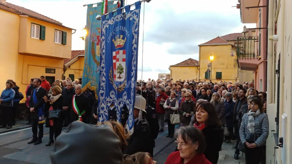 riviera24 - Processione del patrono a Imperia