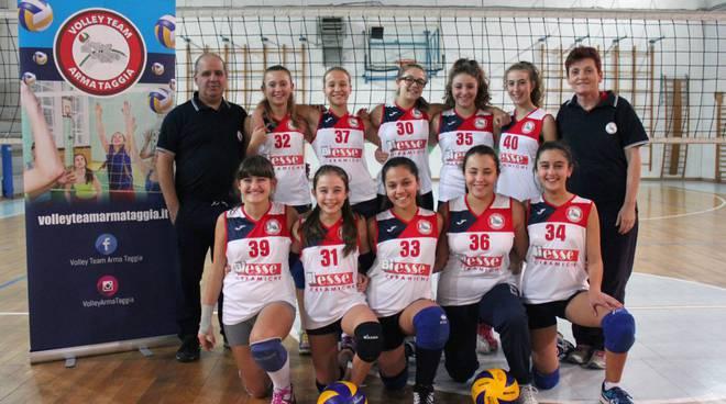 riviera24 - Volley Team Arma Taggia Ceramiche Biesse under 14