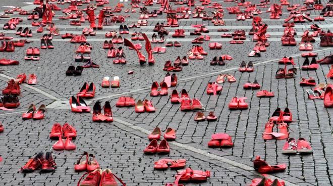 scarpe rosse, violenza sulle donne