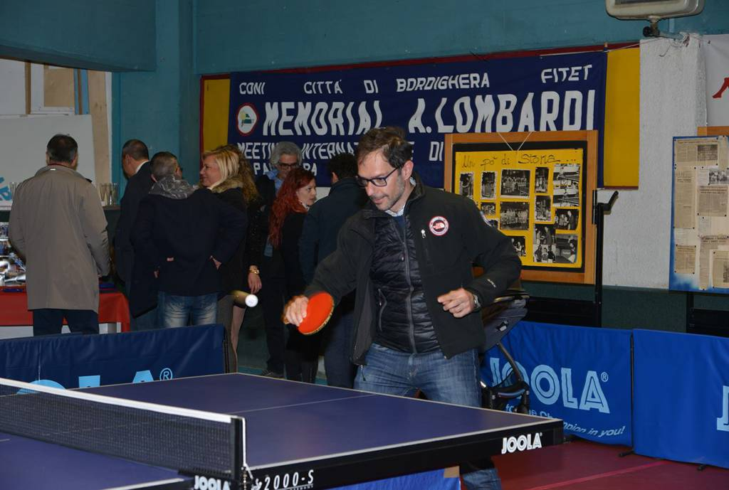 Tennis tavolo bordighera