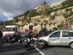 Incidente tre ponti Sanremo