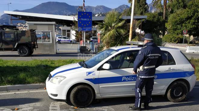 polizia locale ventimiglia confine