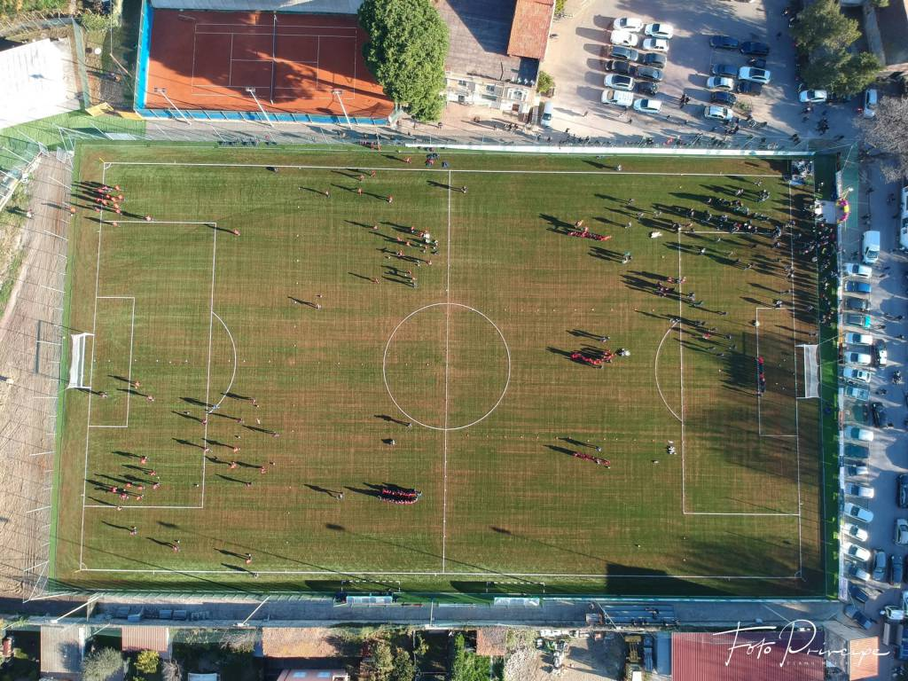 "riviera24 - Inaugurato campo  ""Wladimiro Marengo"" Diano Marina"