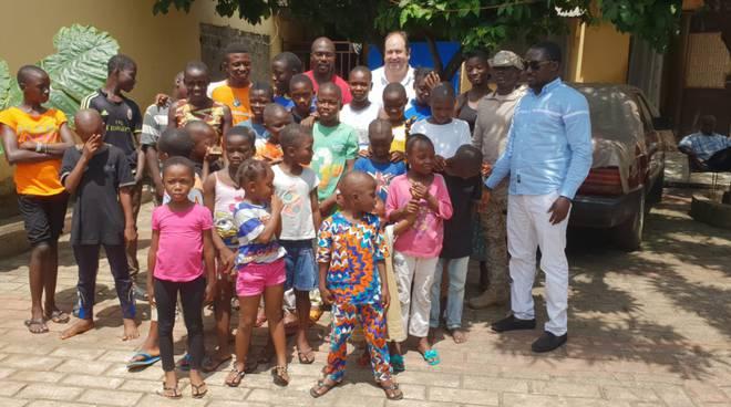 riviera24 - Orphelinat Kiridiya de Matoto pour des actions Humanitaires