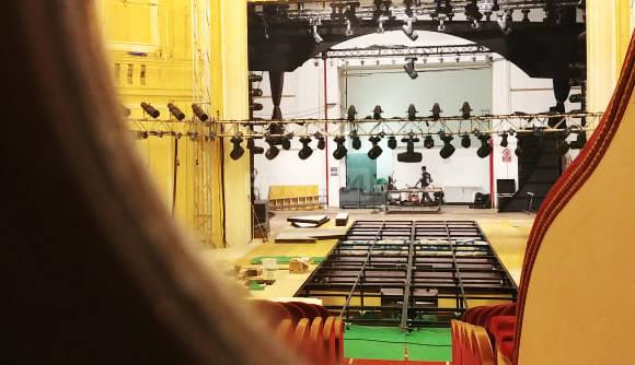 riviera24-palco sanremo giovani teatro casinò lavori