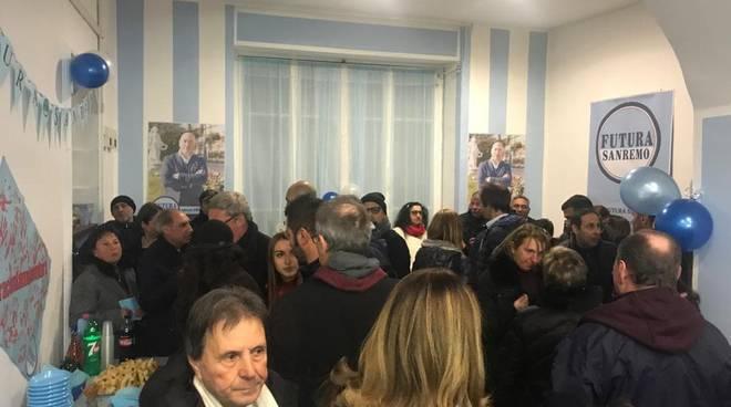 Inaugurazione point Alberto Pezzini