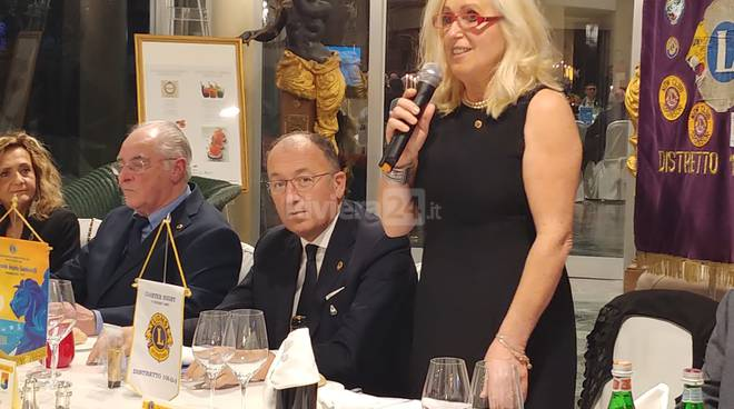 Lions Club Bordighera visita governatore