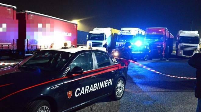 migrante salvato carabinieri