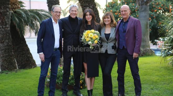 riviera24-Baglioni, Virginia Raffaele e Bisio sono a Sanremo Festival