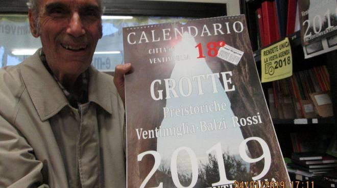 riviera24 - Calendario dedicato alle grotte dei Balzi Rossi